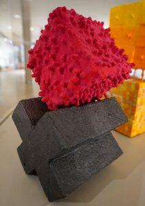 Raspberry Beret by Kim Matthews