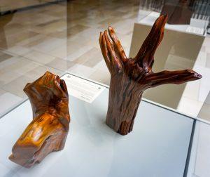 Michaelynn Minnesota buckthorn sculptures
